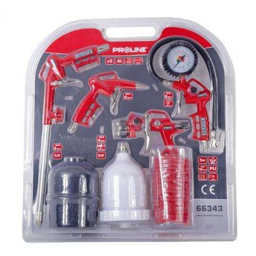 Klucz udarowy pneumatyczny [1/2] 810Nm Proline
