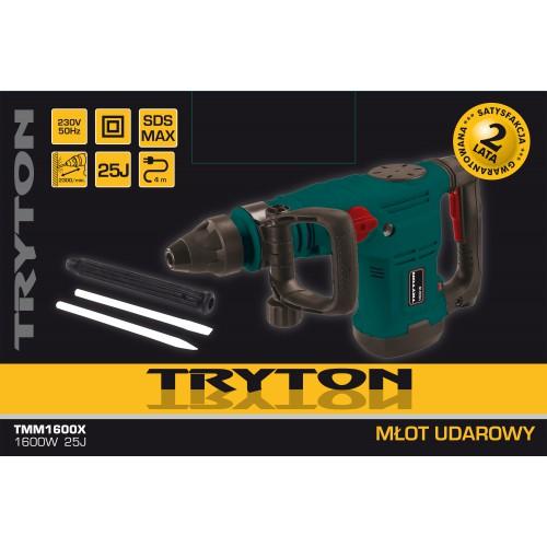 Wiertarko-wkrętarka 18V 2biegi 2xLilON 1.5Ah Tryton TXV18LK2