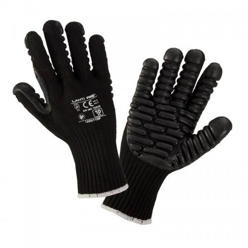 Rękawice antywibracyjne czarne PROLINE LAHTI