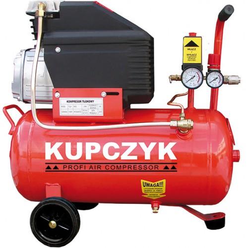 Kompresor Tłokowy olejowy 24l KUPCZYK