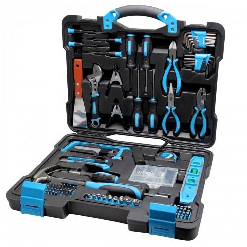 Zestaw narzędzi 144 elementów Mega 58144